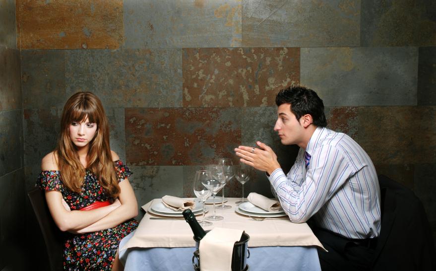 restaurang dating test